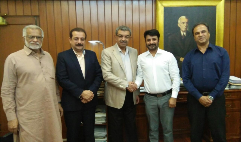 Meeting of ABAD delegation with Mr  Rizwan Memon Chief