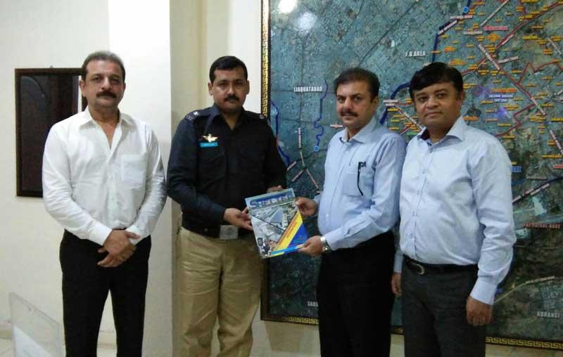 meeting-Abdullah-memon-SP-Gulshan-East-Zone-Sindh-Police